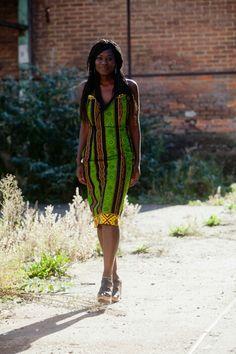 Robe tissu ethnique