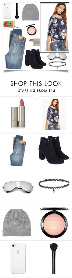 """Untitled #405"" by taissasilva ❤ liked on Polyvore featuring Ilia, Citizens of Humanity, Monsoon, BERRICLE, Madeleine Thompson, MAC Cosmetics and NARS Cosmetics"