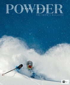 Powder Winter athletes and skiing enthusiasts will love a Powder magazine subscription.