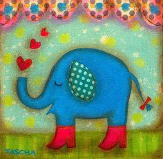 elephant in love...........
