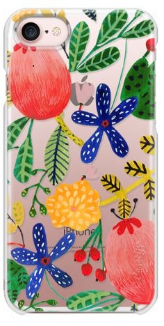 Casetify iPhone 7 Snap Case - Bright Colors by Iisa Mönttinen