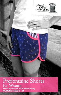 Prefontaine Shorts for Women by Made with Moxie