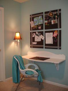 Cute desk idea!