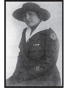 Charlotte Edith Anderson Monture, AEF.  Demonstrating the Iroquois woman's traditional independence of spirit, Edith Anderson from the Six Nation's of the Grand River reserve was living and working as a registered nurse in New York. Joining the American Expeditionary Force as an army nurse, she served overseas in France until demobilized in 1919. She returned home to the reserve to   continue nursing, and to raise a   family.