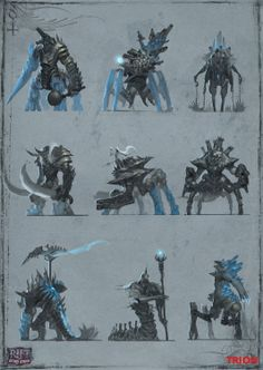 Frost Giants Thumbnails by openanewworld