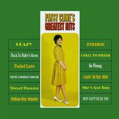 Patsy Cline - Greatest Hits on 200g LP