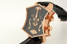 ArtyA - Son of Sound Guitar Watch 18k Pink Gold