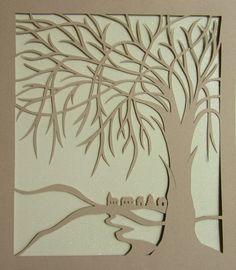 Art Decorations Home Décor Tree Of Life Silhouette Cutout, Original Design…