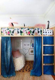 Ideas Room Decor For Teen Girls Diy Bedrooms Loft Beds For 2019 - Besten Neu deen Loft Beds For Teens, Bunk Beds For Girls Room, Bunk Bed Rooms, Loft Bunk Beds, Teen Girl Rooms, Teen Loft Beds, Teen Bedrooms, Bunk Bed Designs, Loft Room