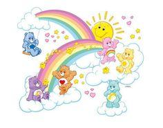 Wandtattoo Glücksbärchis Regenbogentraum Beliebte Marken Glücksbärchis