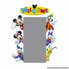 Mickey Mouse® Clubhouse Character Welcome Go-Arounds®. Create a fun classroom entrance with your favorite, Mickey Mouse and friends! Minnie Mouse, Mickey Y Minnie, Mickey Mouse And Friends, Disney Mickey Mouse, Mickey Mouse Classroom, Disney Classroom, Classroom Themes, Classroom Birthday, Classroom Board