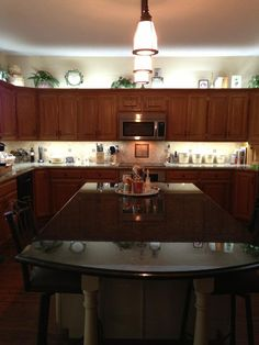 Maple Mission Style Reface, Granite. Kitchen Tune Up, Wichita, KS.  316 558 8888, 4057 N. Woodlawn, #1. | Kitchens | Pinterest