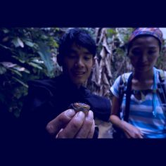 fresh water crab and friends =] #Laos #portrait