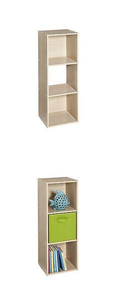 Other Home Organization 20621: Closetmaid Cubeicals 3 Cube Organizer Birch   U003e BUY IT NOW