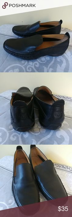 Mens Timberland Black Driving Mics woN Excellent, very lightly worn ! Black Leather uppers 11M Timberland Shoes Loafers & Slip-Ons