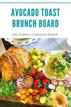 How to Plan a Stress Free Vegetarian Brunch Charcuterie Vegetarian, Vegetarian Brunch, Mimosa Brunch, Brunch Menu, Sample Menu, Easy Food To Make, Morning Food, Meatless Monday, Menu Planning