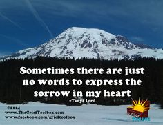 No words for sorrow - A Poem