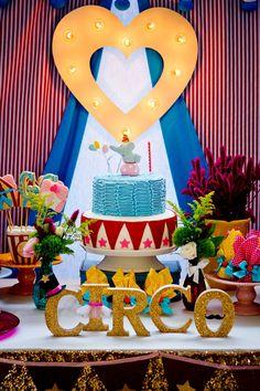 Frescurinhas Personalizadas: Grande circo da Gigi!