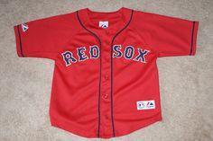 Boston Red Sox Varitek majestic youth jersey shirt boys size 8 #Majestic #BostonRedSox