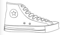 Shoe Templates, Shoe Template Printable, Art Ideas, Pete The Cat Shoes Pete The Cat Shoes, Shoe Template, Chuck Taylor Shoes, Art Worksheets, Shoe Pattern, School Shoes, Free Shoes, Custom Shoes, Chuck Taylors