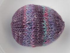 Knitted Easter Egg Pattern Tutorial