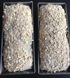 EKSTRA GROVT GLUTENFRITT HAVREBRØD Fodmap Recipes, Gluten Free Recipes, Healthy Recipes, Lchf, Grain Foods, Our Daily Bread, Sourdough Bread, No Bake Desserts, Bread Baking