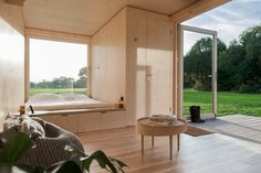 Photo 8 of 12 in These Off-the-Grid Cabins in Belgium Keep Their Locations Secret Until You Book - Dwell #vacation #rental #travel #belgium #offgrid #cabin