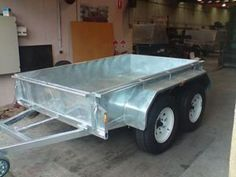 Specializes in sale of custom trailers in Melbourne. Find a range of custom built trailers in stock and on display at our Blackburn Trailer factory in Melbourne. Custom Trailers, Trailers For Sale, Box Trailer, Enclosed Trailers, Tandem, Melbourne Victoria, Exceed, Customer Service, Building