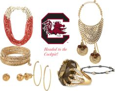 """""""Headed to the Cockpit SEC Gameday Ready"""" by robin-willis on Polyvore"""