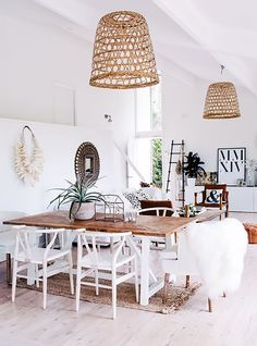 FESTIVAL BRIDES | 10 Ways to Make Life Lovely - The September One, autumnal lifestyle favourites, rattan lampshade interior design