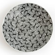 EXCLUSIVE large hand drawn bowl by Pen and Gravy