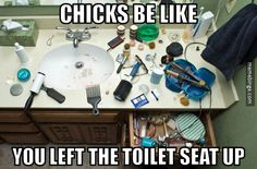 Guys be like… what is all that stuff?