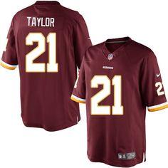 Men Nike Washington Redskins  21 Sean Taylor Limited Burgundy Red Team  Color NFL Jersey Sale c7c682d62