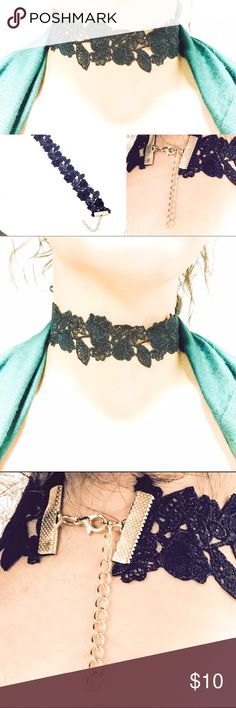 Adorable choker for sale NEW ARRIVALS!! & OHH SO HOT! A must have!  Adorable Choker Cute Collar Fashion Necklace Easy to wear. Goes Great with any outfit! Fast shipping!   Trendy Neckless! Trending Now! La Tends! retrend Jewelry Necklaces