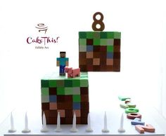 Minecraft Birthday Cake - Cake by Cake This