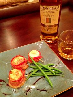 Great post about Glenmorangie 12 yr and delicious bacon-wrapped scallops!  A match made in heaven.  Check it out! http://portofentree.com/