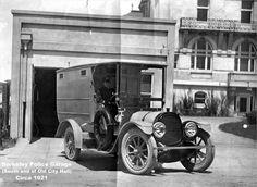 1921 Berkeley Police Garage