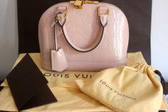 Louis Vuitton Alma BB in Rose Angelique Vernis