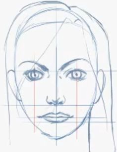 Step 08 how to draw female face How to Draw Female Faces in Correct Proportions with Easy Drawing Lesson