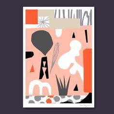 © Kristin Berg Johnsen Contemporary Art, Collage, Art Prints, Wall Art, Abstract, Illustration, Cards, Instagram, Design
