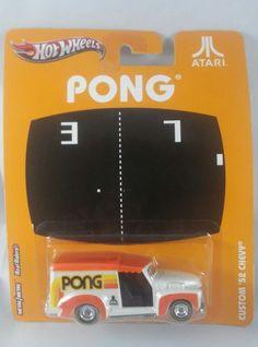 Hot Wheels Atari PONG Custom '52 Chevy 1:64 scale Diecast #HotWheels #Chevrolet