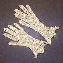 Victorian Ecru Hand Crocheted Gloves Vintage Crochet Patterns, Crochet Gloves, Ruby Lane, Hand Crochet, Shops, Victorian, Tents, Retail, Retail Stores
