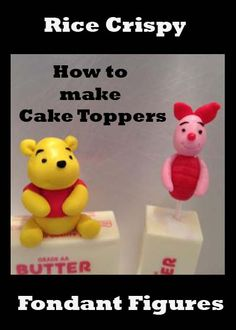 Making Rice Crispy Figures | Little Delights Cakes