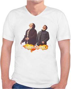 Supernatural T-shirt-2 (Erkek) Kendin Tasarla - Erkek V Yaka Tişört
