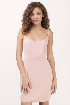 Be Your Lady Blush Bodycon Dress