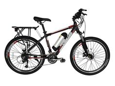 X-Treme - Summit - 36V LiPo4 Mid-Motor Powered Mountain Electric Bike