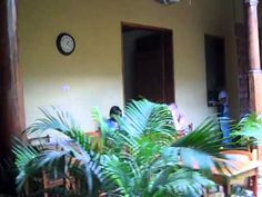 Writing in Leon, Nicaragua