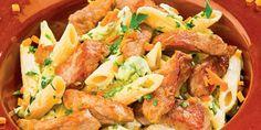 Penne, Pork, Chicken, Kale Stir Fry, Pork Chops, Pens, Cubs