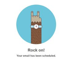 Mailchimp notification. Love this company!