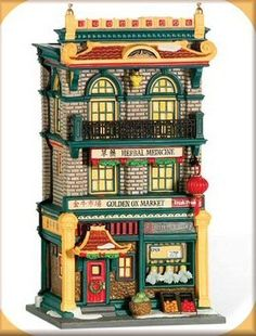Golden Ox Market NEW Department Dept. 56 Christmas In The City Village CIC